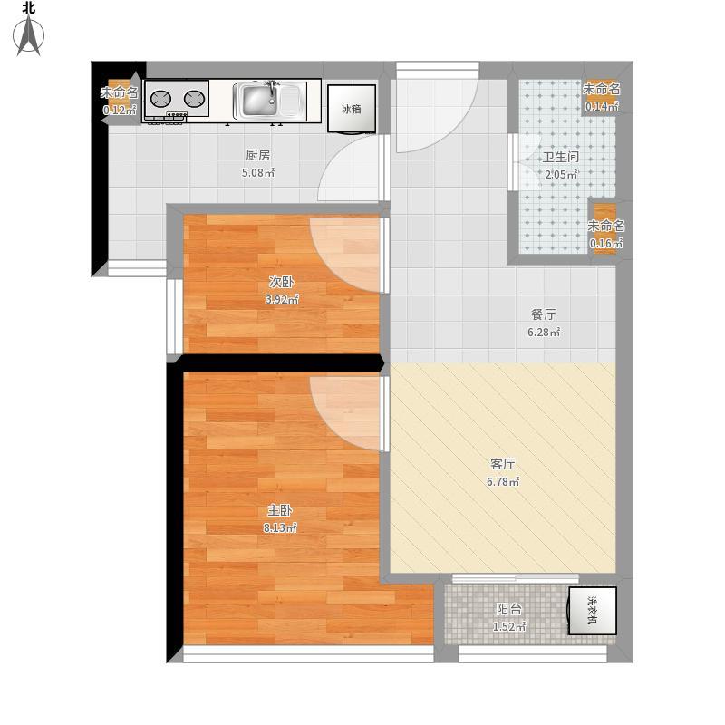 我的设计-深圳龙海家园a2户型