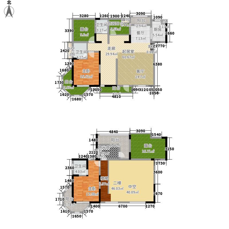金威英伦世家2室0厅3卫1厨223.24㎡户型图