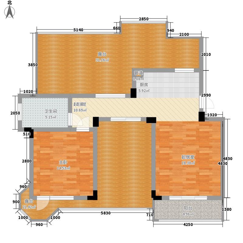 中国户型大全 嘉兴 钜和天乐苑 1室0厅1卫0厨 100-130㎡  户型图报错