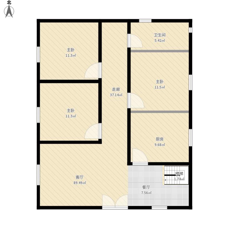 房屋整体平面图-0529-13-46图片