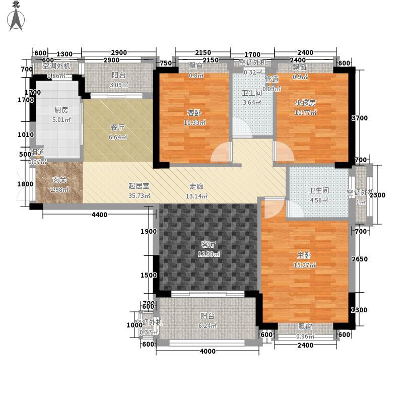 圆方欧洲城2室0厅2卫1厨139.00㎡户型图