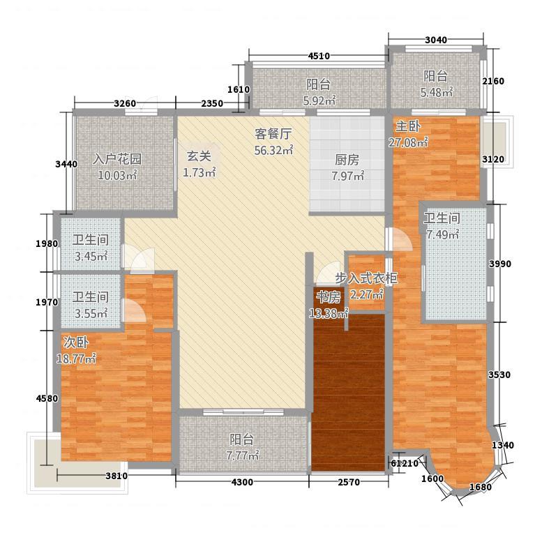 均安尚苑_顺德均安尚苑3室1厅3卫0厨212222.00㎡户型图