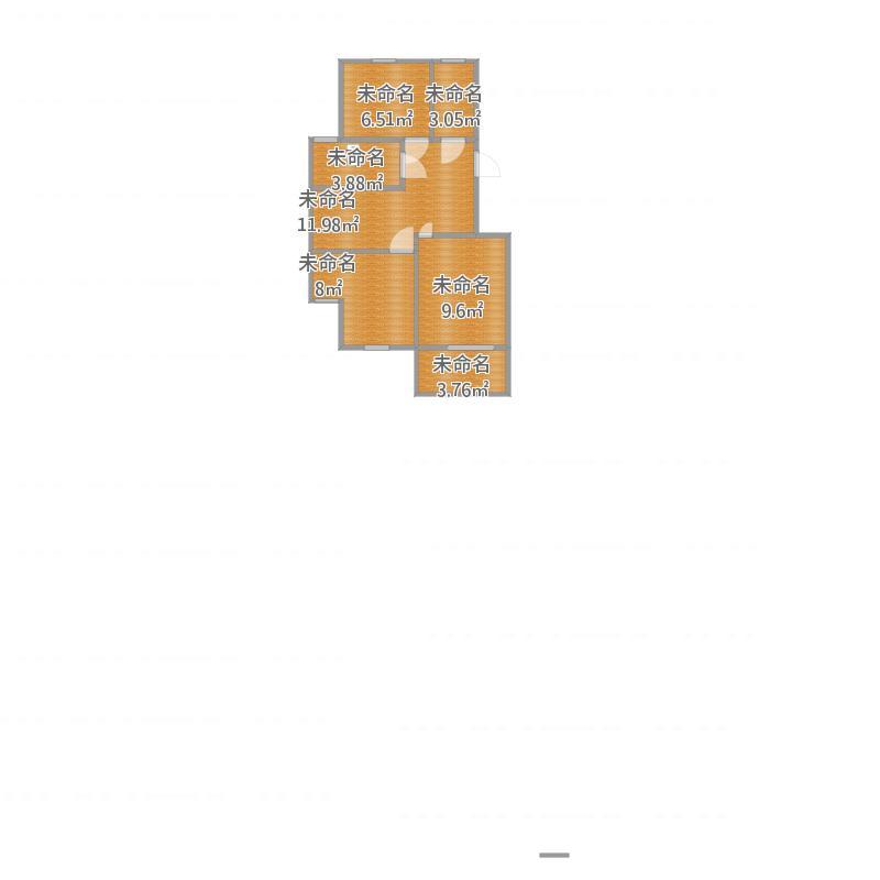 中国户型大全 杭州 风景大院 50-80㎡  户型图报错 面积有误请提供