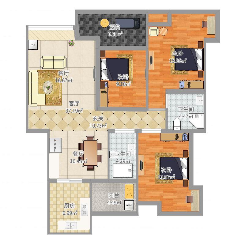 房屋平面图2图片