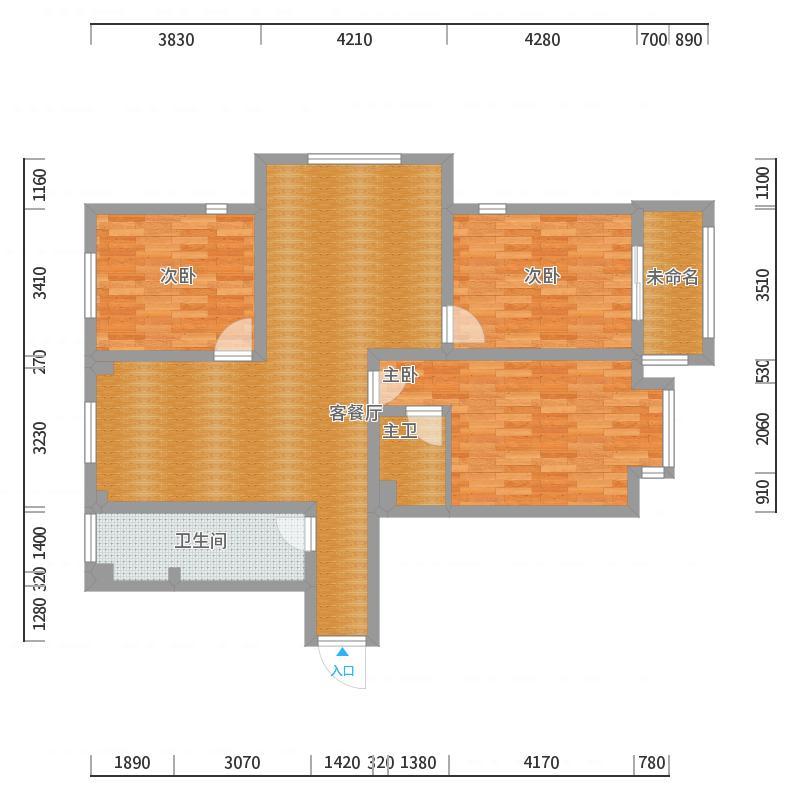 远洋新天地3栋10楼东室内设计是用到人软件图片