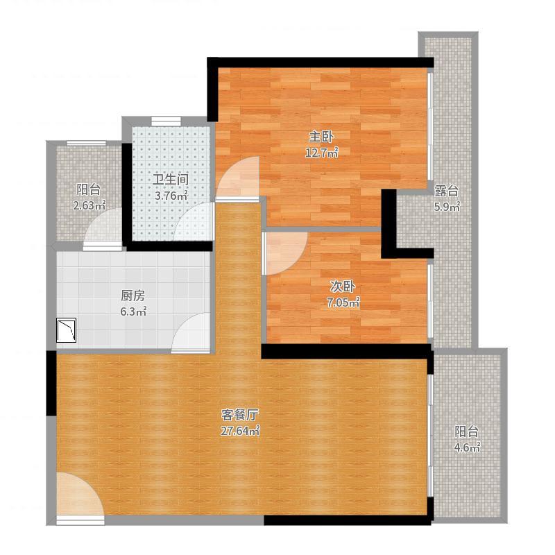 房子结构原图(论坛)