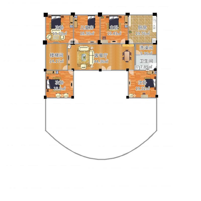 房间规划设计图