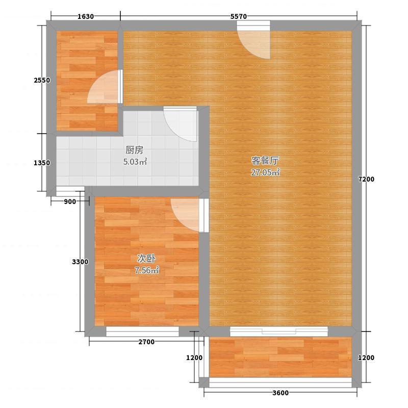 中国户型大全 昆明 蓝光林肯公园 1室2厅0卫1厨 130㎡及以上  xiao