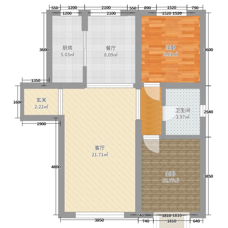 兰石豪布斯卡1室2厅1卫1厨104.00户型图户oppoa9了忘记绘制图片