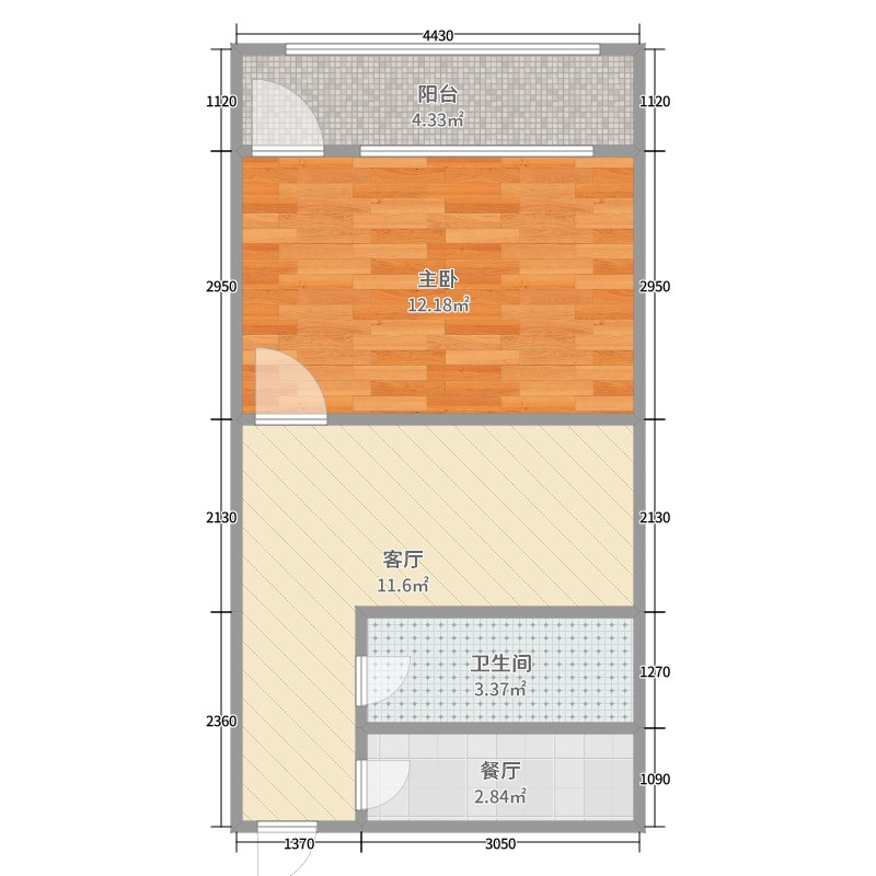 宿舍建筑通风手绘图