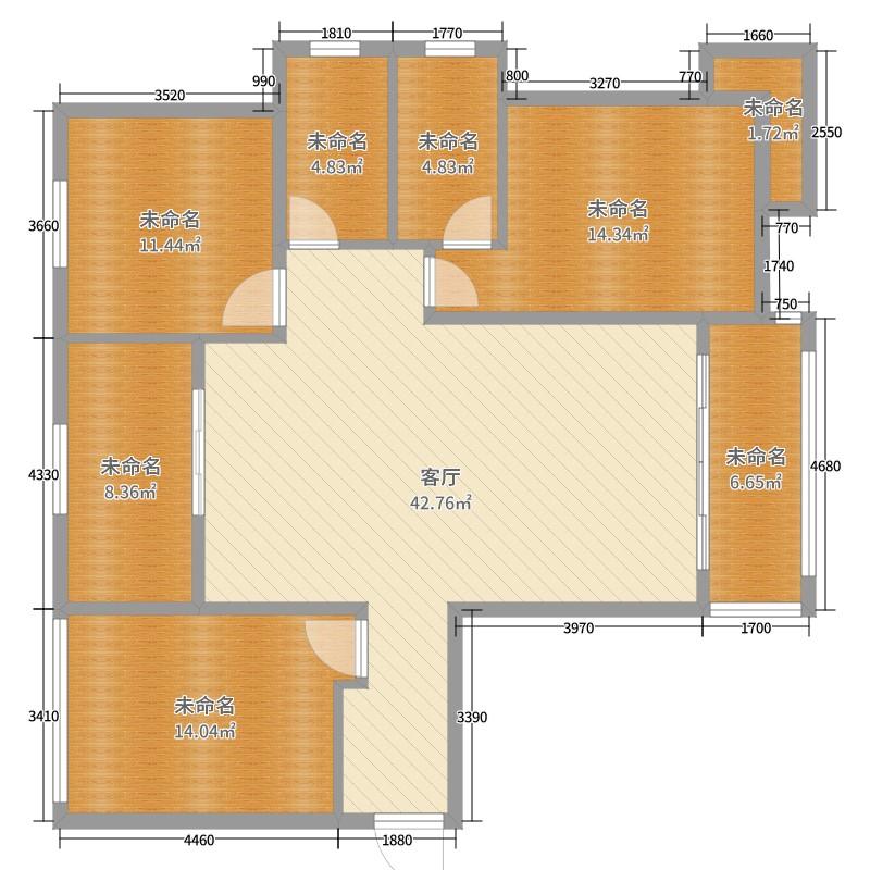 兰石a楼房名居0室1厅0卫0厨136.00楼房图户cad户型装修设计图纸图片