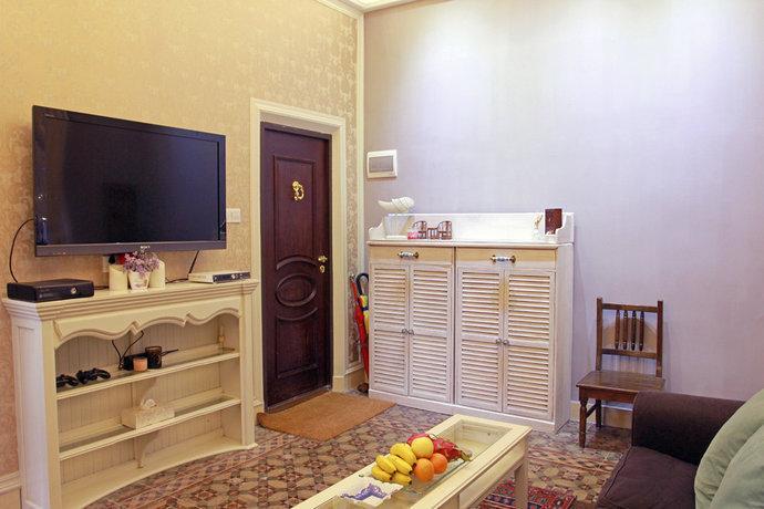 40㎡小户型现代欧式客厅沙发装修效果图