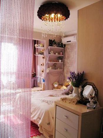 卧室做床装修效果图