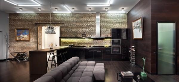 经典loft 现代简约装修设计案例