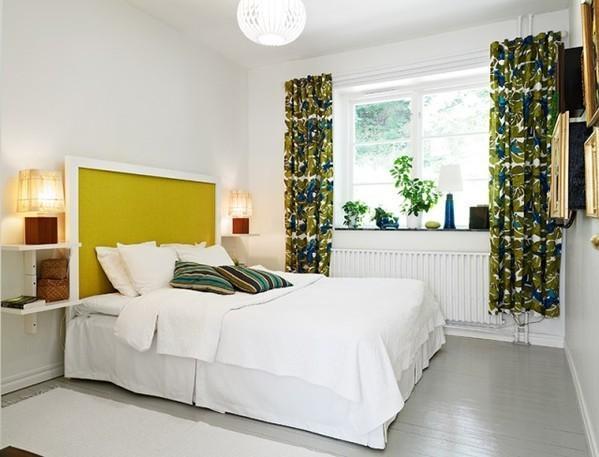 花纹墙纸妙用64平欧式公寓
