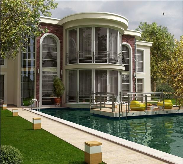 土豪们快收藏吧!11套现代别墅外形设计图片
