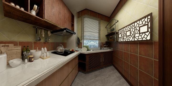 民宿厨房装修效果图