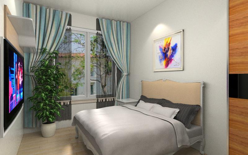 背景墙 房间 家居 起居室 设计 卧室 卧室装修 现代 装修 800_500