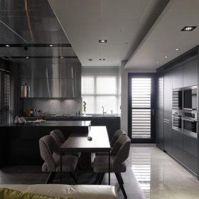 现代简约厨房吊顶设计方案