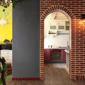 田园厨房隔断装修案例