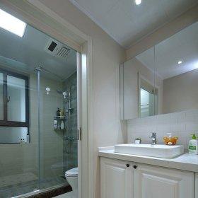 卫生间干湿分离效果图