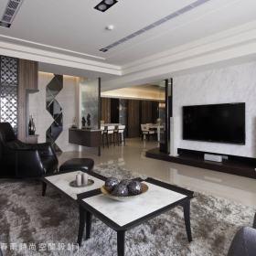 客厅电视墙装修案例