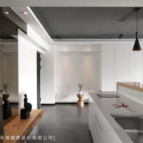 现代简约厨房吊顶装修图