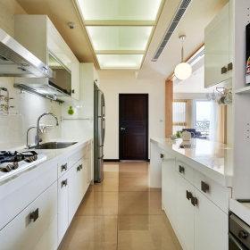 现代简约厨房吊顶设计案例