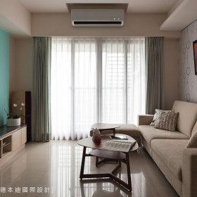现代简约客厅背景墙设计方案
