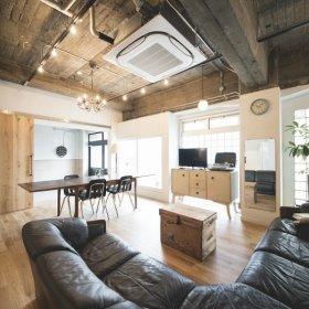 工业风客厅收纳设计方案