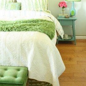田园卧室图片