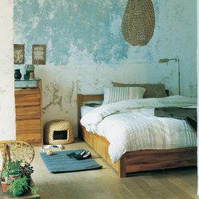 日式卧室背景墙装修效果展示