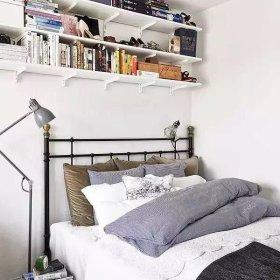 北欧卧室收纳图片