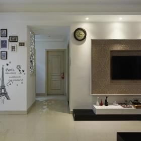客厅过道背景墙设计案例展示