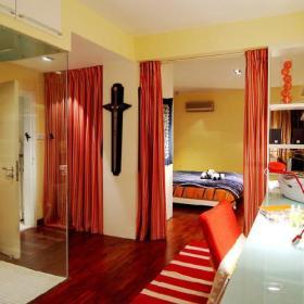 卧室书房淋浴房图片