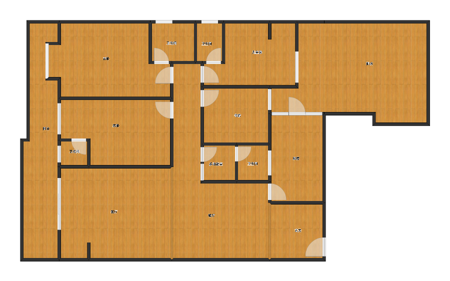 未知小区4室2厅1卫4厨
