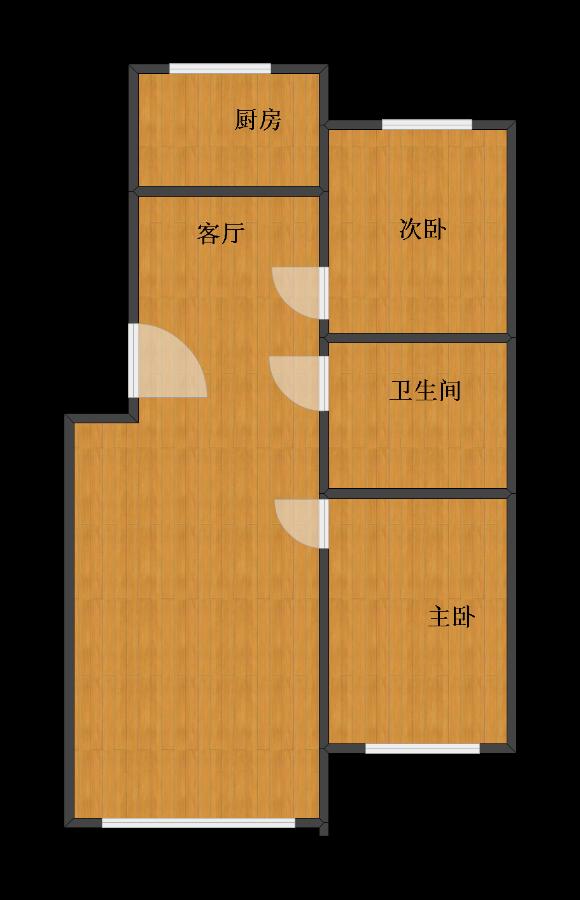90平两居室