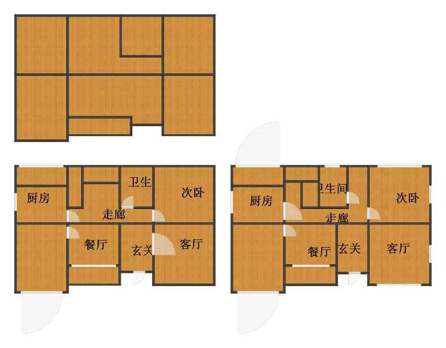 未知小区2室4厅2卫2厨