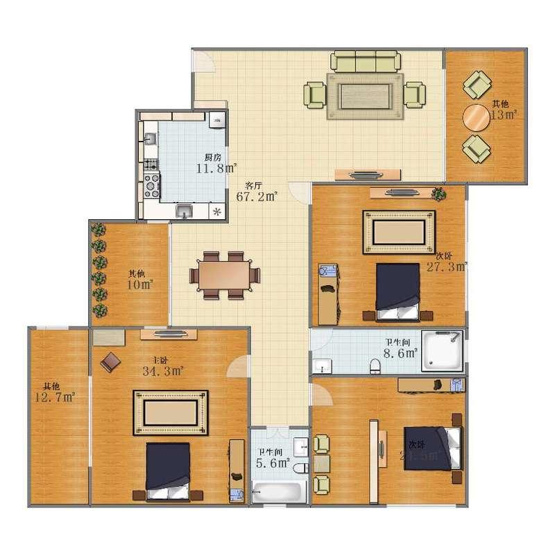 自己家的设计