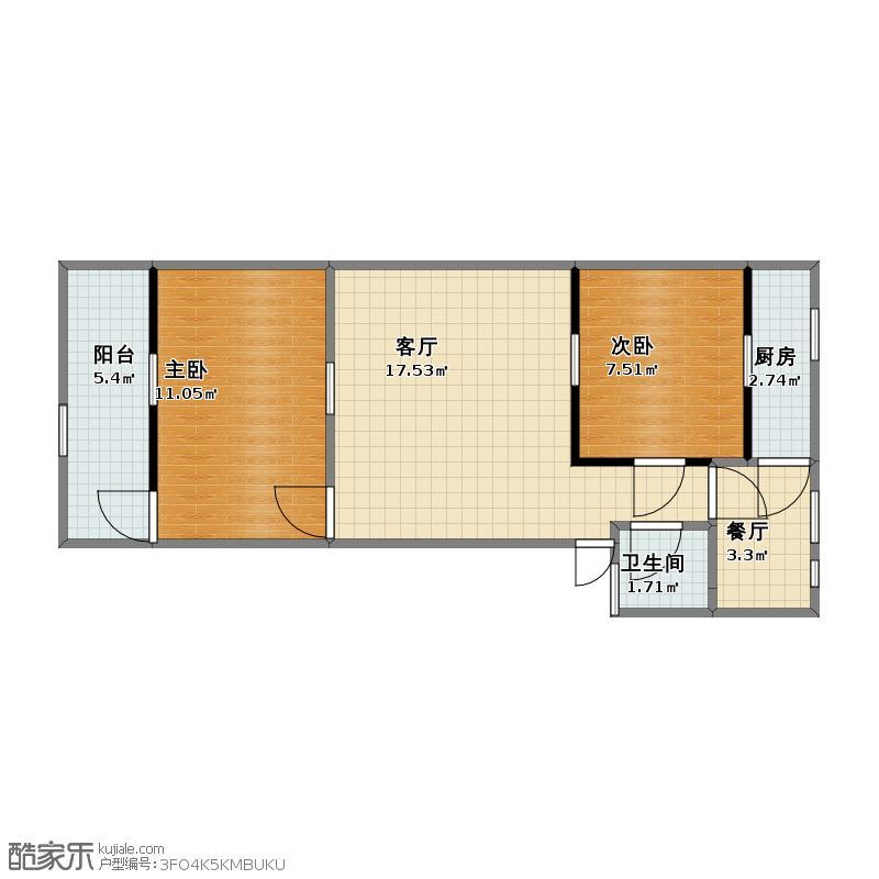 90平2室2厅