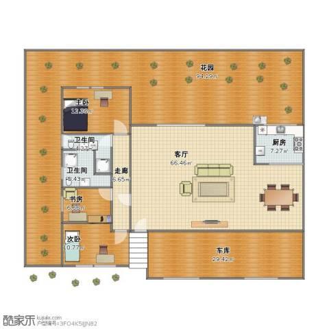 东方知音3室1厅1卫2厨244.00㎡户型图