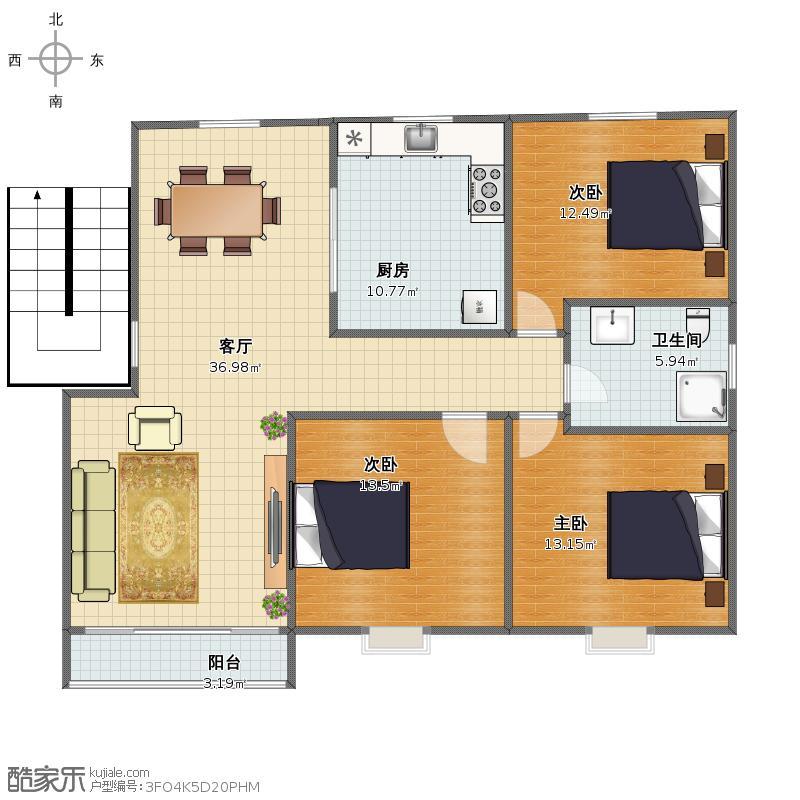文萃一楼三室