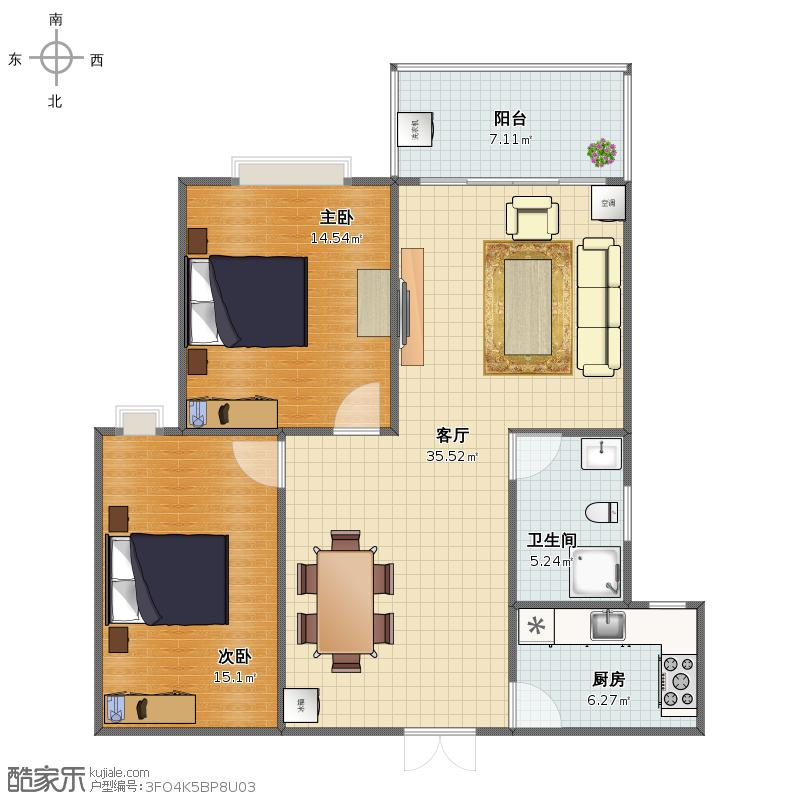 梦想家园户型图