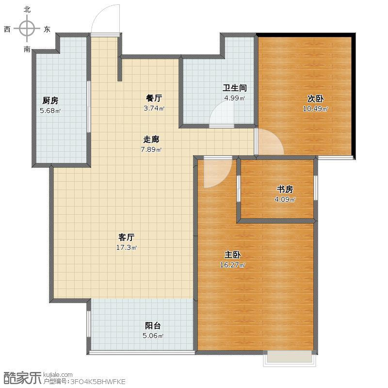 我的家户型图