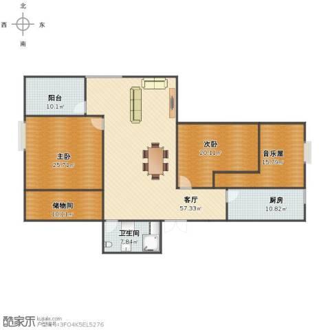 鹏润家园2室1厅1卫1厨171.00㎡户型图