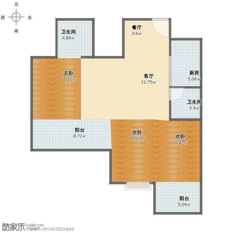 泰禾红峪户型图