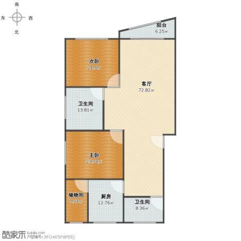 生产街139号2室1厅1卫2厨180.00㎡户型图