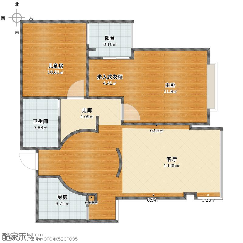 理想家园户型图
