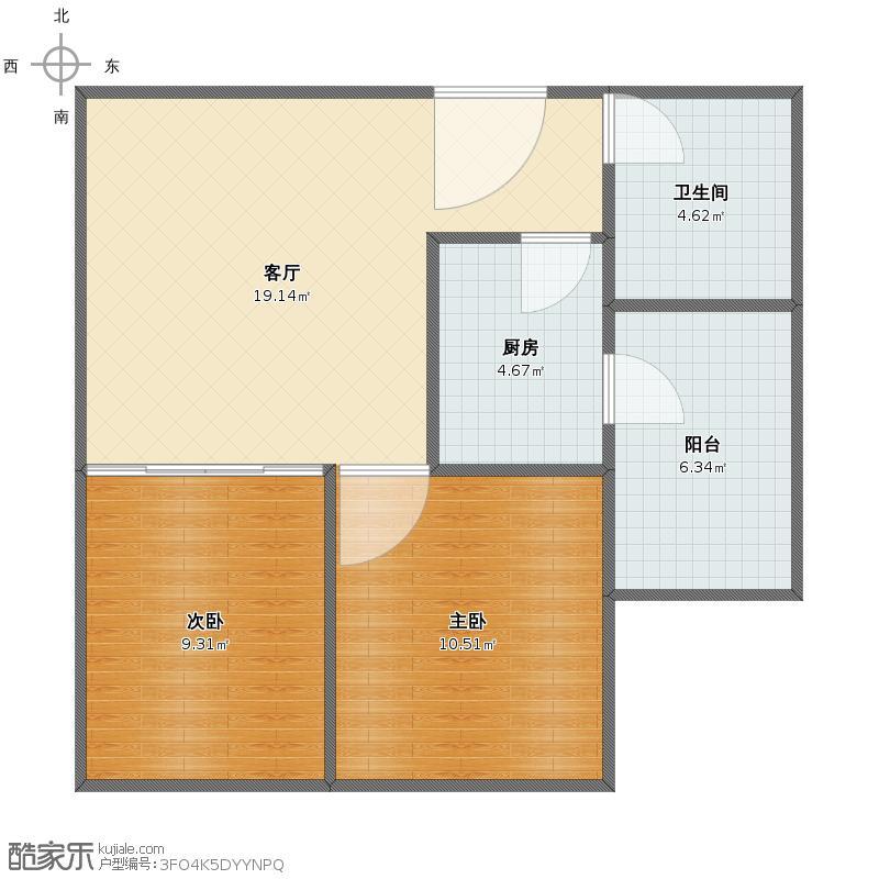 金茂海景公寓1b 06户型