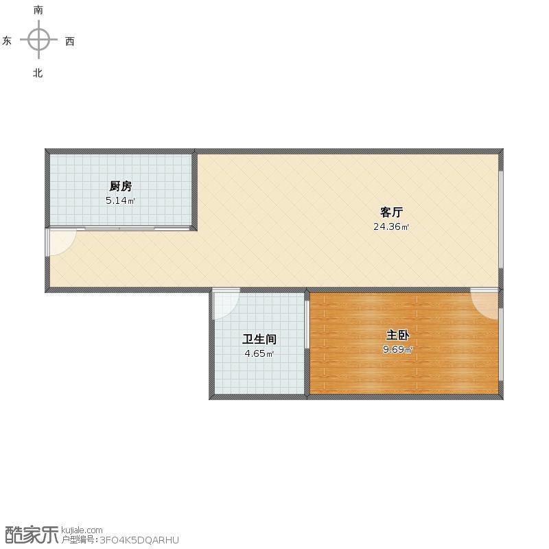 北海大厦公寓户型图